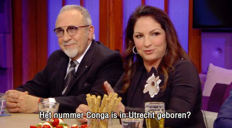 Gloria Estefans wereldhit 'Conga' is geboren in Utrecht