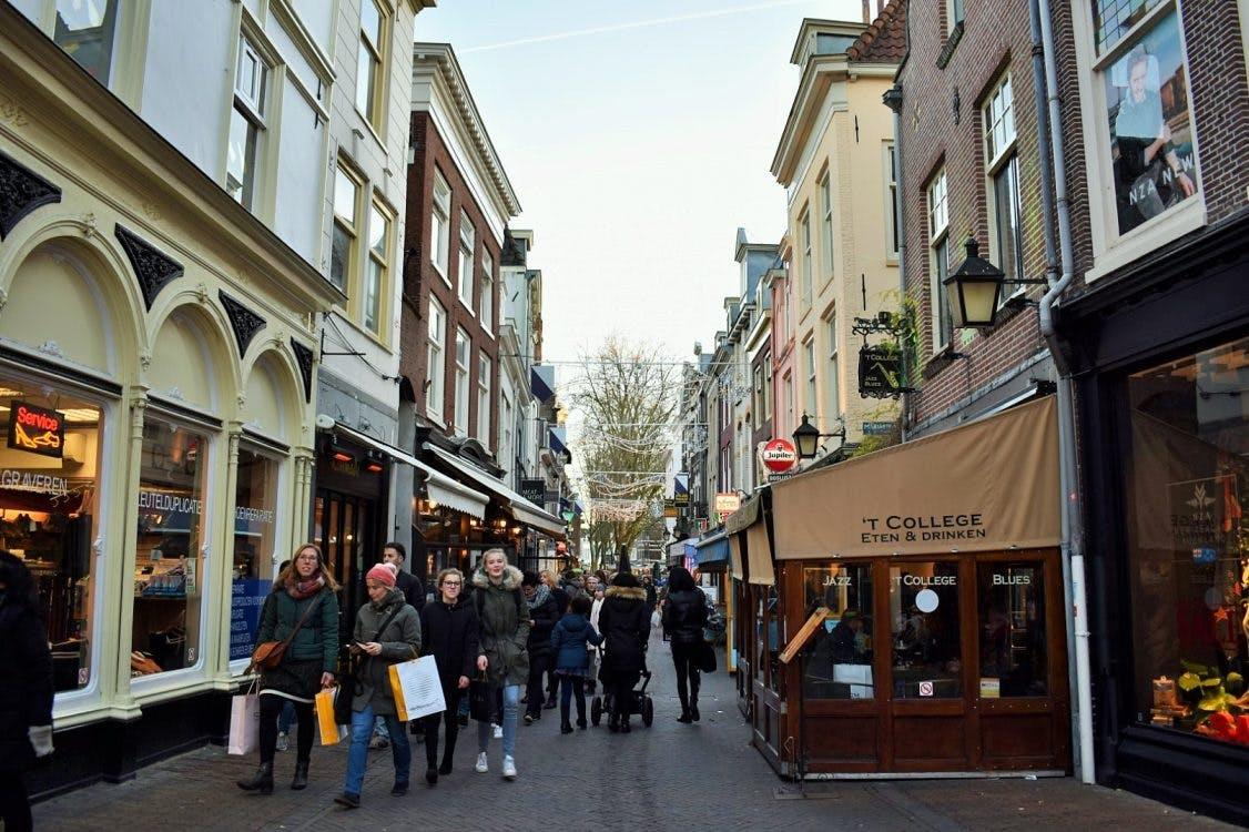 Café 't College aan de Mariastraat kreeg terecht geen vergunning voor uitbreiding