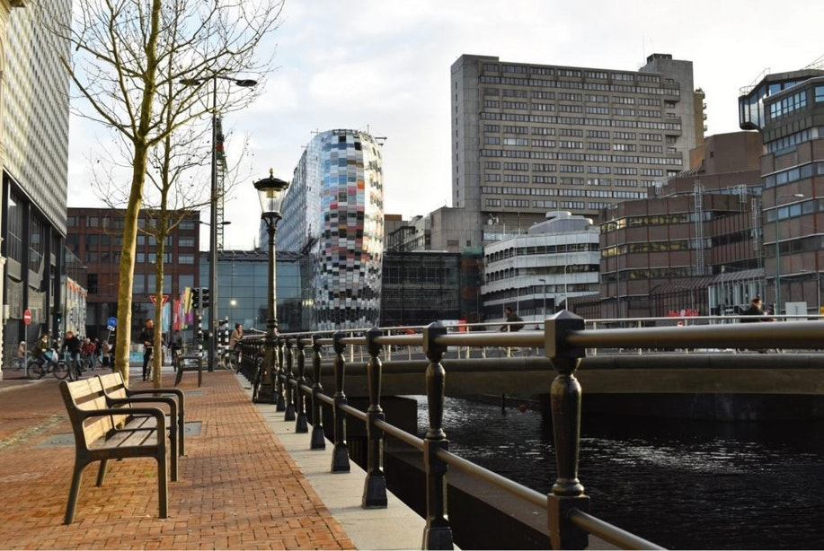 Flagshipstore NIKE en supersize Vapiano in Nieuw Hoog Catharijne