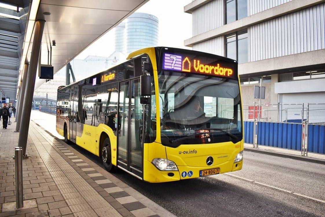 U-OV gaat drukte in bussen tonen aan reizigers