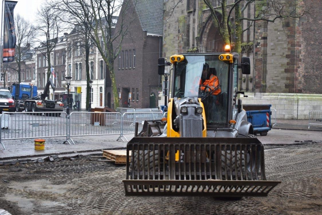 Verbouwing Domplein van start: '2000 jaar geschiedenis zichtbaar maken'