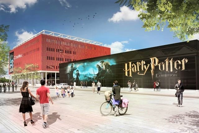 Honderden mensen melden zich aan om te werken bij de Harry Potter expo