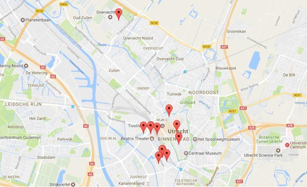 Universiteit Utrecht brengt straatpoëzie in kaart