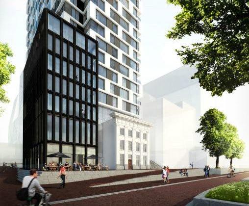 In februari start bouw woontoren Van Sijpesteijnkade