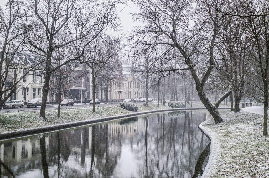 Weer code oranje in Utrecht: problemen op de weg en op het spoor