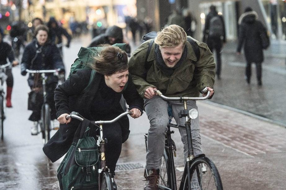 D66 wil na verkiezingen fietssnelweg tussen Utrecht en Amsterdam