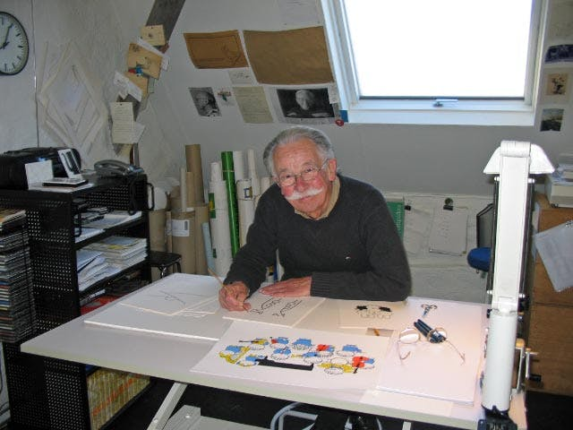 DICK BRUNA (89) OVERLEDEN