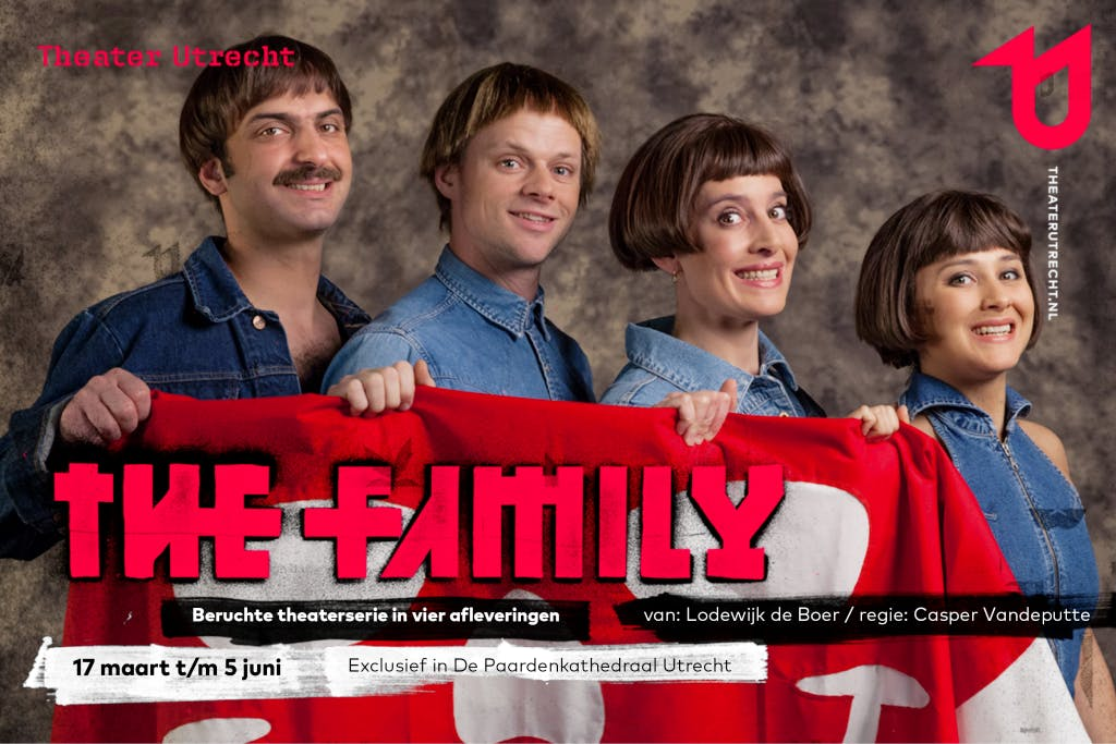Meeslepende theaterserie in vier afleveringen: The Family van Theater Utrecht