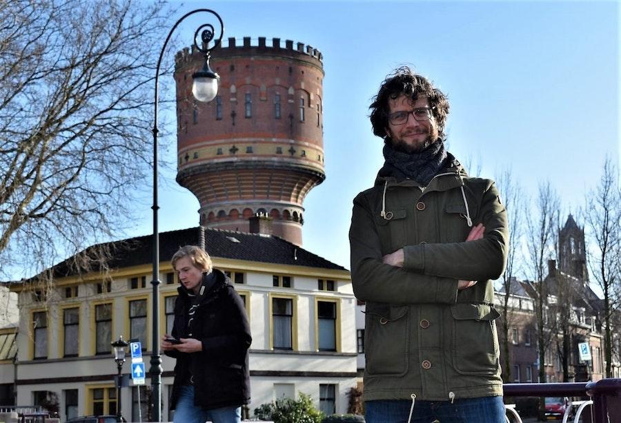 Deze man kocht ineens watertoren Lauwerhof