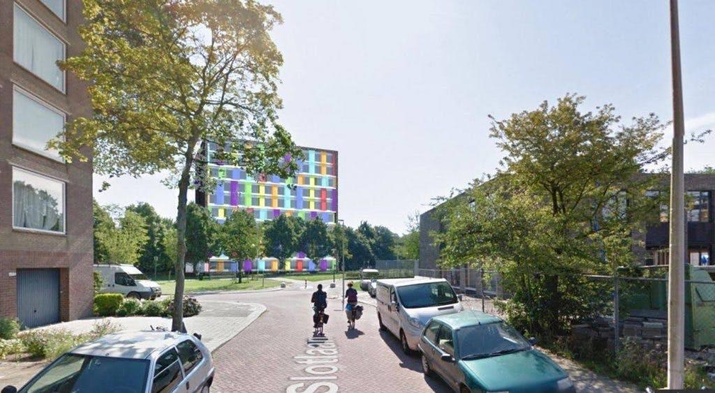 Plan voor tweehonderd studentenwoningen in Hoograven doorgezet