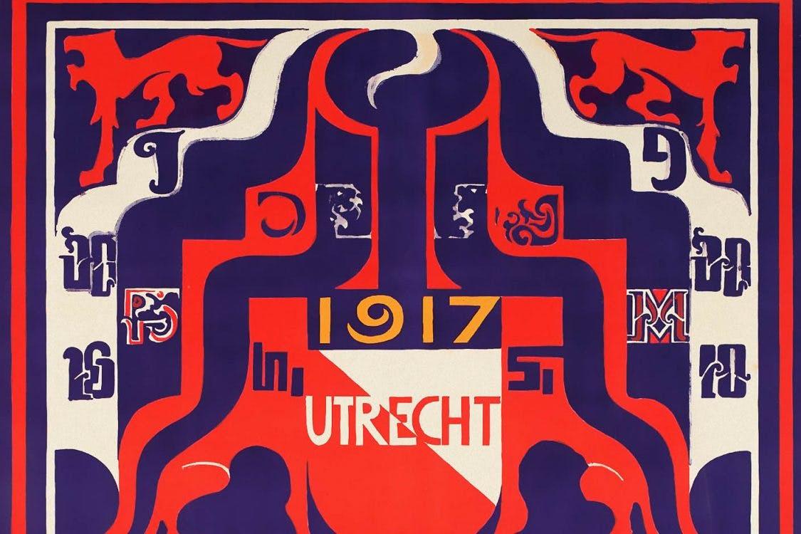 Utrechtse affiches: Het eerste affiche voor de Jaarbeurs, 1917