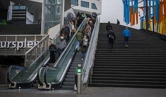 'Goede roltrappen Jaarbeursplein zonder overkapping gewoon mogelijk'