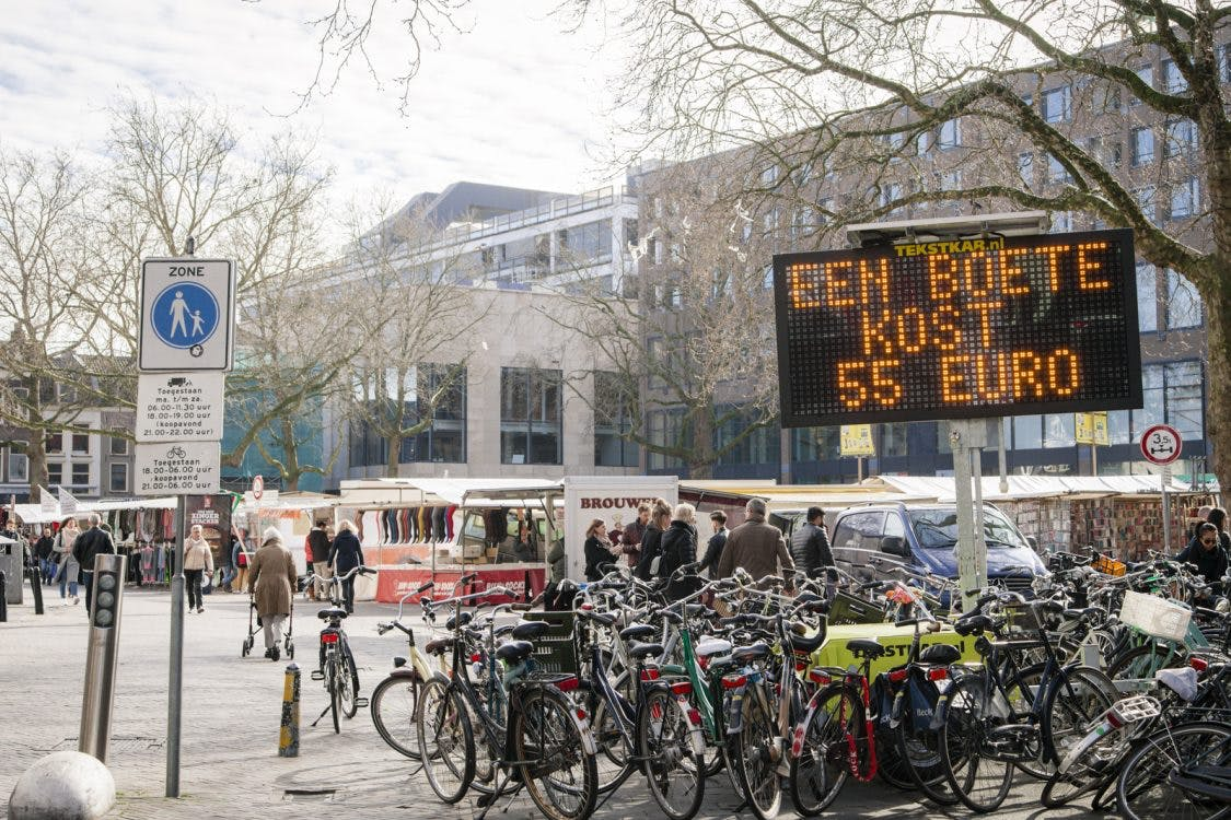 Onder de aandacht: fietsen in voetgangersgebied