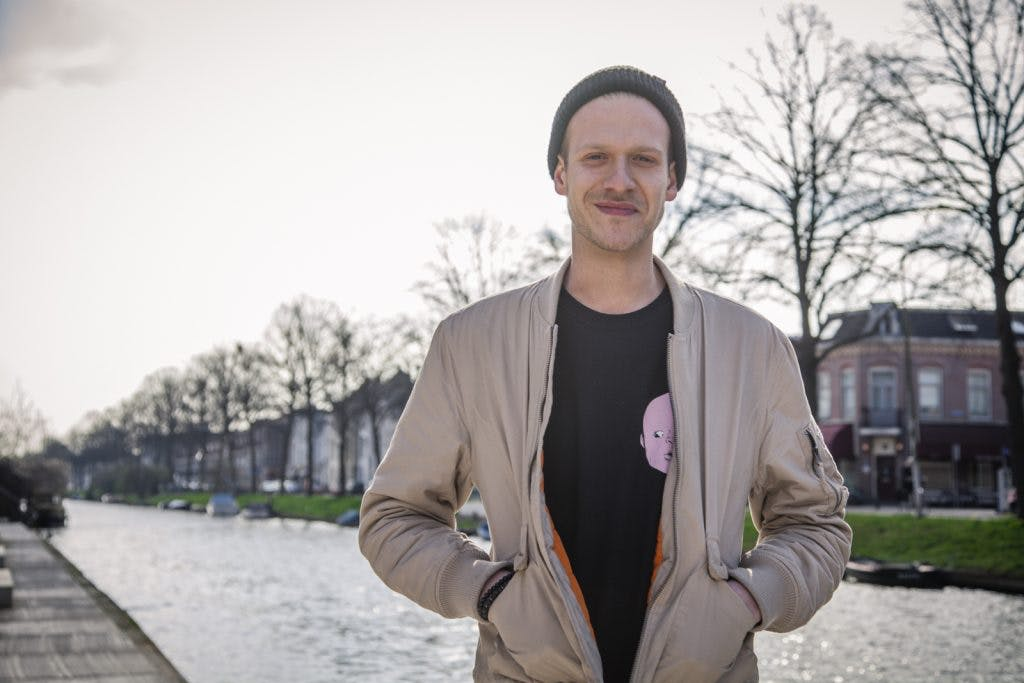 """Het weekend van Joris van den Berg van The Grand East: """"Kanaleneiland is echt fucking lachen"""""""