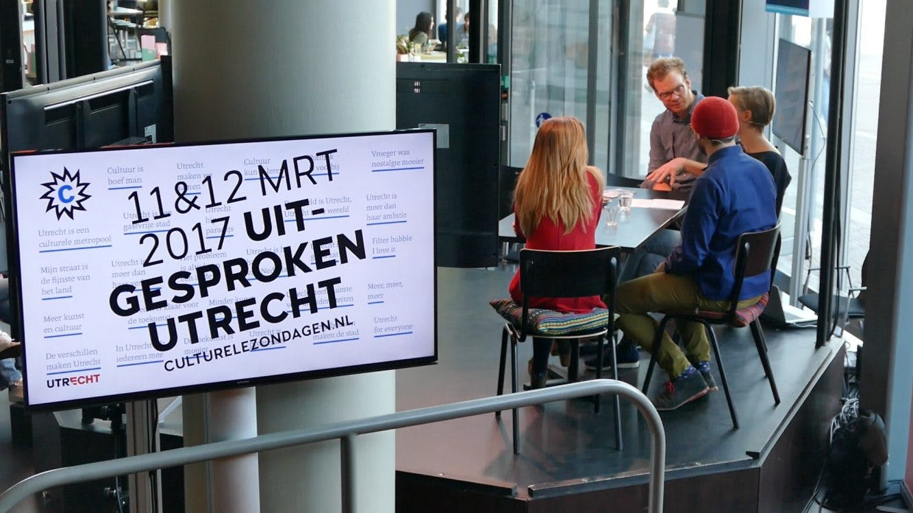 DUIC TV bezoekt Culturele Zondag met Allemaal Utrechters