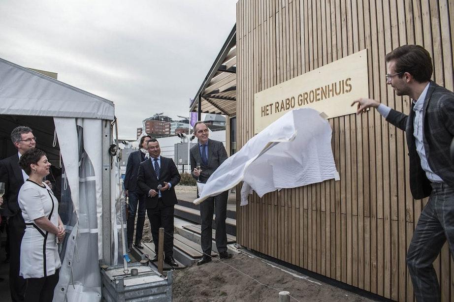 Rabo GroenHuis geopend op het Jaarbeursplein