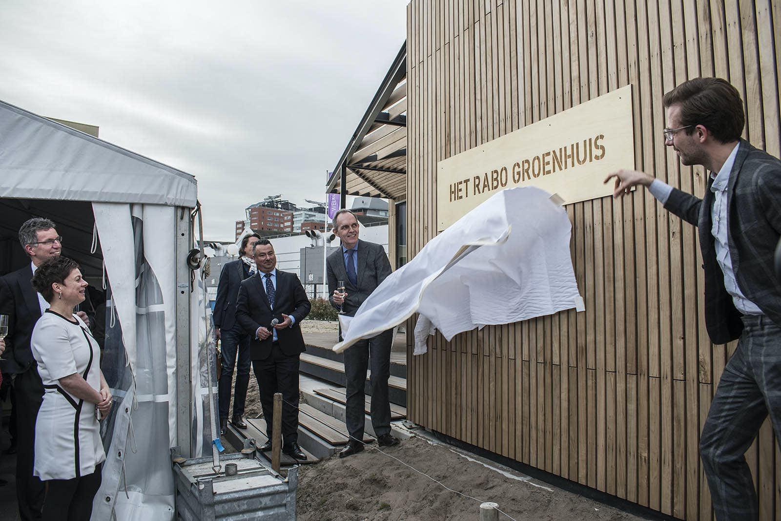 Rabo groenhuis geopend op het jaarbeursplein de utrechtse internet courant - Keukenplan op de eetkamer geopend ...