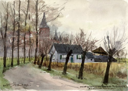 Derde deel 'De getekende stad' geopend in Het Utrechts Archief