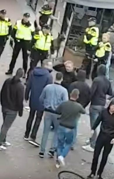 Heftige confrontatie tussen supporters van Heracles en FC Utrecht
