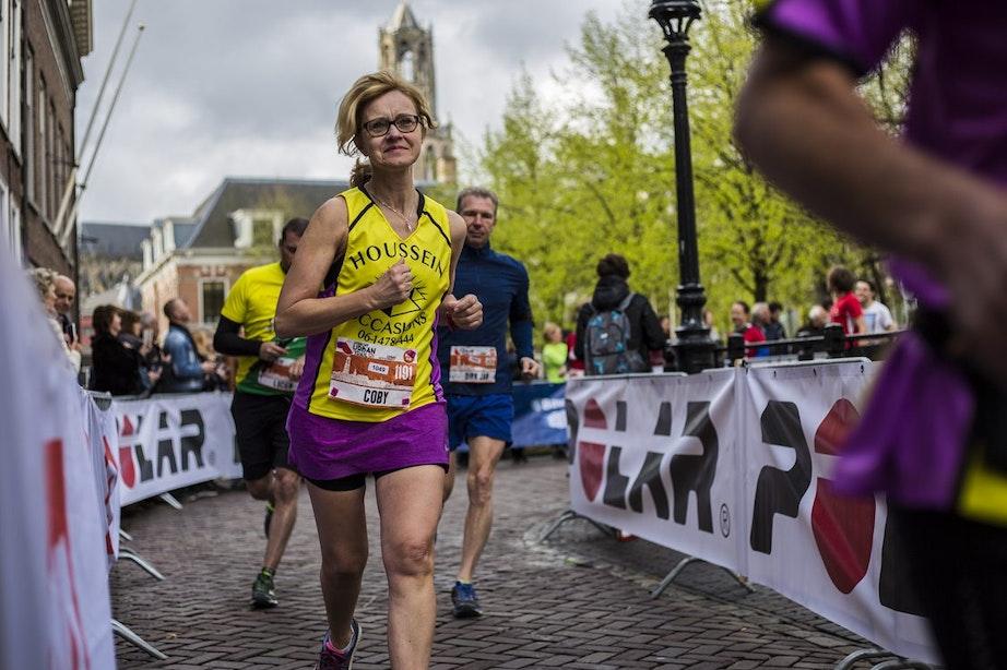 Foto's: Veel lachende gezichten bij eerste Utrecht Urban Trail