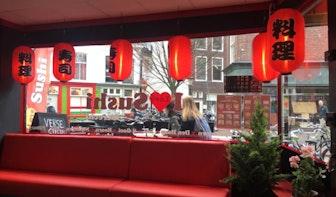 Nieuw sushi-restaurant aan de Voorstraat beschoten