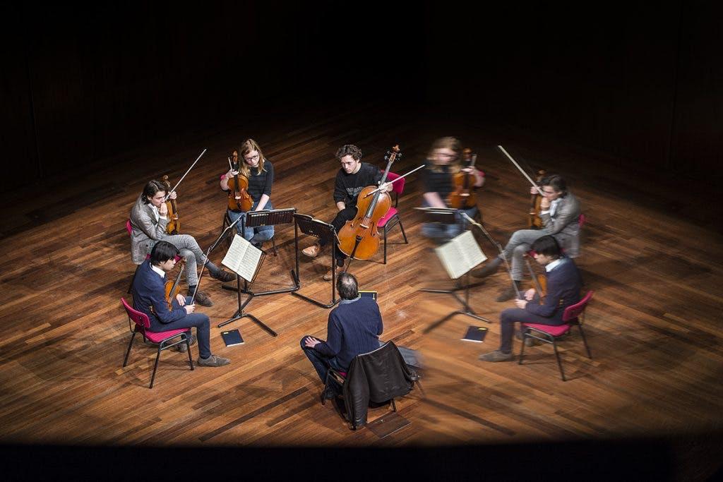 DUIC volgt Utrechtse muziektalenten bij Rabo Next Stage: coach Marc Danel