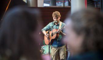 DUIC volgt Utrechtse muziektalenten bij Rabo Next Stage: deelnemer Arie Buursema