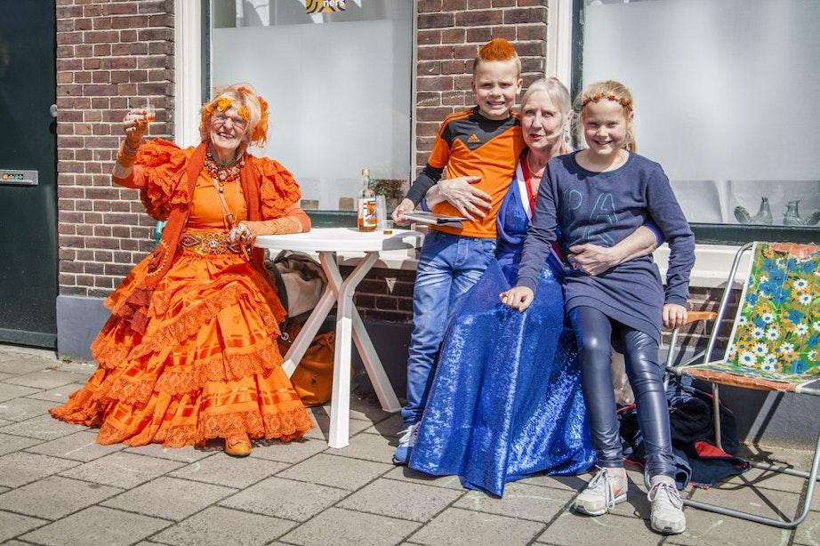 Foto's: Utrecht maakt zich op voor Koningsdag