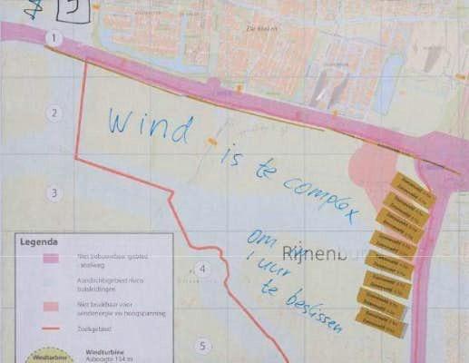 Windmolenpark Rijnenburg: ophef door plannen van gemeente Utrecht