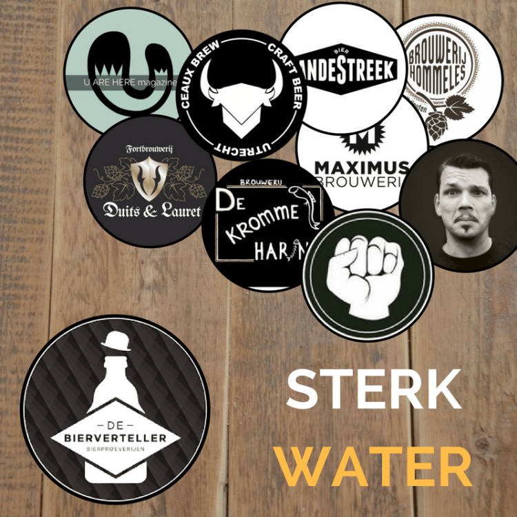 Zeven Utrechtse brouwerijen slaan handen ineen voor ernstig zieke Bierverteller