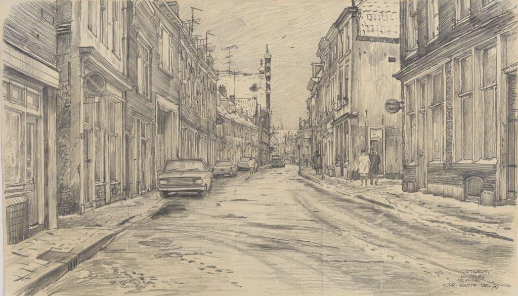 De getekende stad: De Springweg in verval