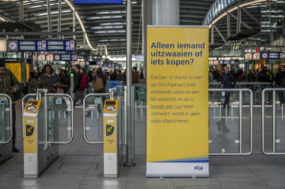 Gesloten poortjes op Utrecht CS volgens NS geen obstakel