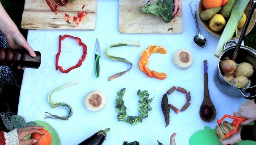 World Disco Soup Day: bij Instock soep eten en dansen tegen voedselverspilling