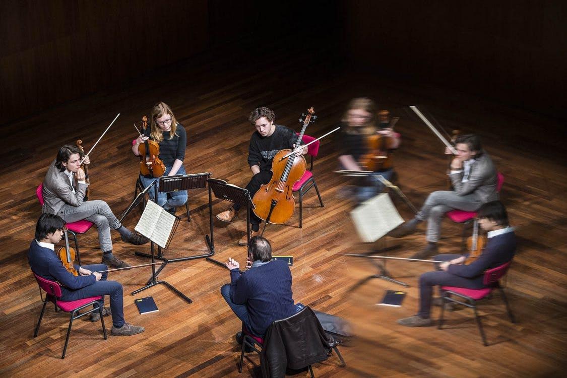 DUIC volgt Utrechtse muziektalenten bij Rabo Next Stage: Animato Kwartet