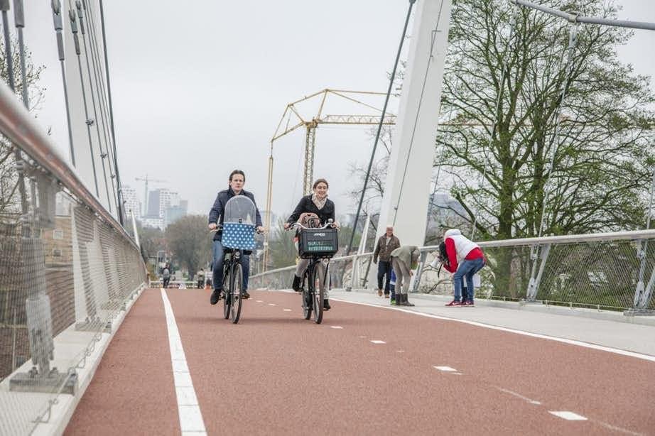 Utrecht wint prijs meest duurzame mobiliteit 2017