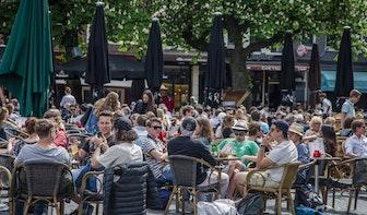 Bekijk hier het plan voor de horeca in Utrecht: 'Sluit delen van Oudegracht en Stadhuisplein tijdelijk af'
