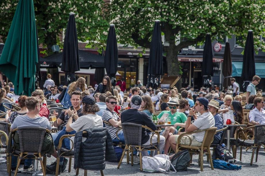 Vijf grote pleinen in Utrecht extra beveiligd tegen terreuraanslagen