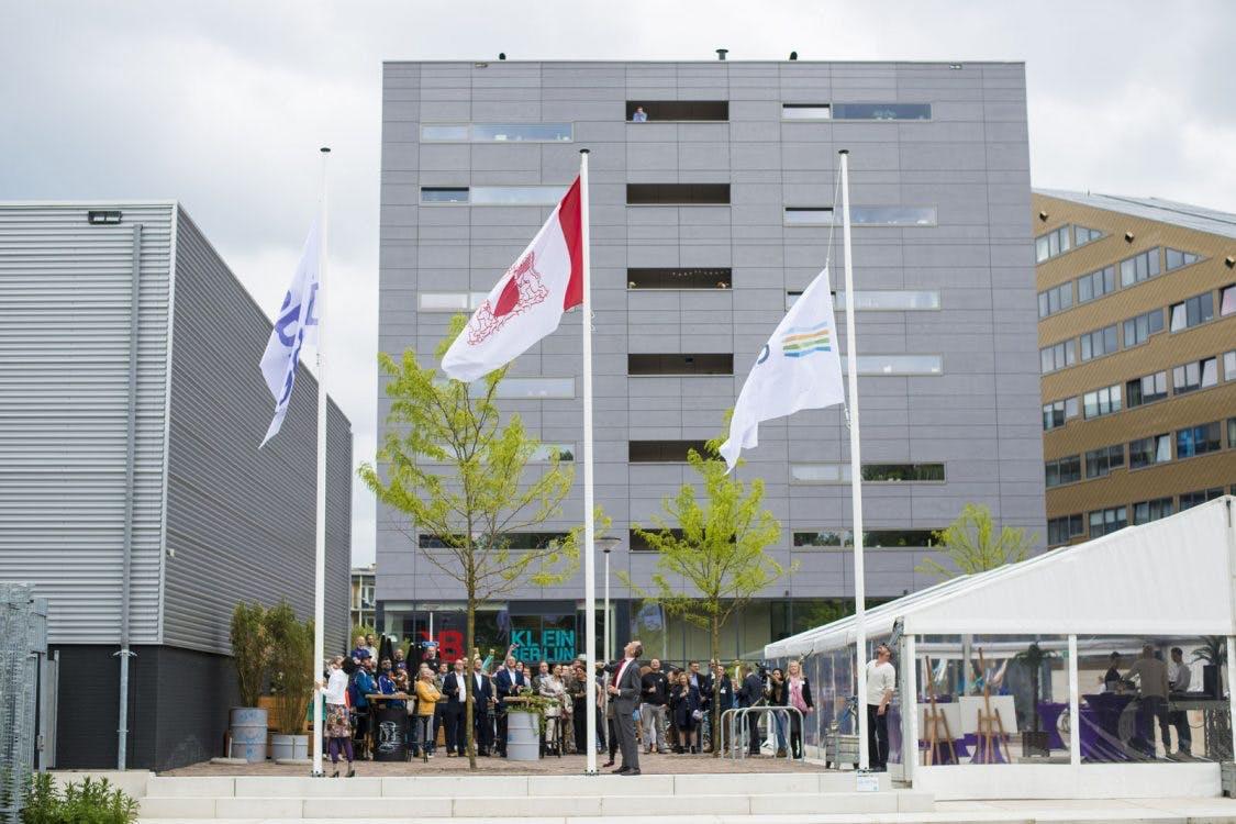 Nieuwbouwproject 'de Trip' in Utrecht officieel geopend: honderden woningen, creatieve bedrijven en horeca