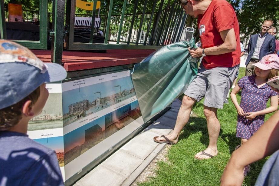 Nieuwe panorama onthuld om muziektent in Park Lepelenburg