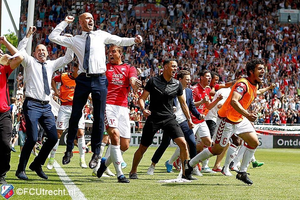 Nog even nagenieten: de bloedstollende wedstrijd van FC Utrecht