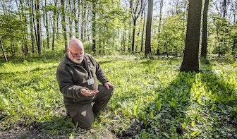 Werkplek van de boswachter: Peter ziet door de bomen het bos nog steeds elke dag