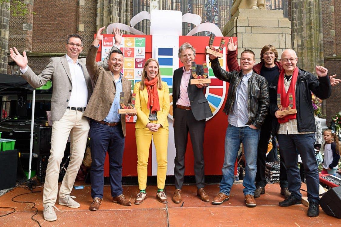 Het Rabo GroenHuis wint HeelUtrechtU-award