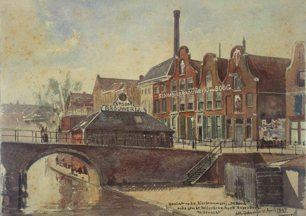 De getekende stad: brouwerij De Boog, 1897