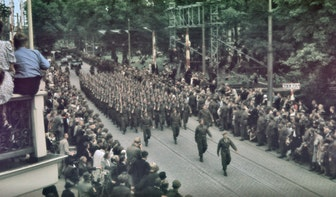 Bekijk hier historische beelden van de bevrijding van Utrecht op 7 mei 1945