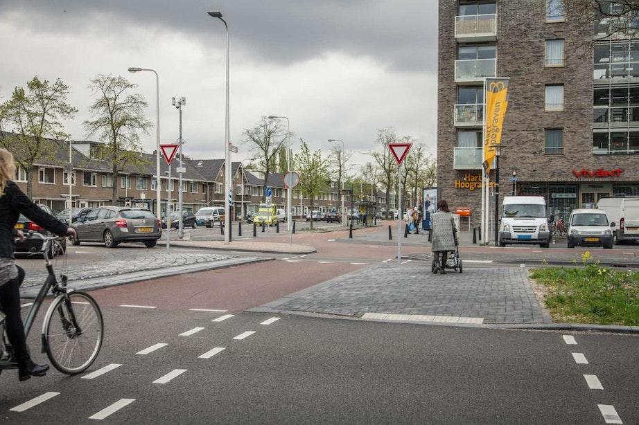 Resultaten herinrichting 't Goylaan: fietsers én auto's rijden sneller