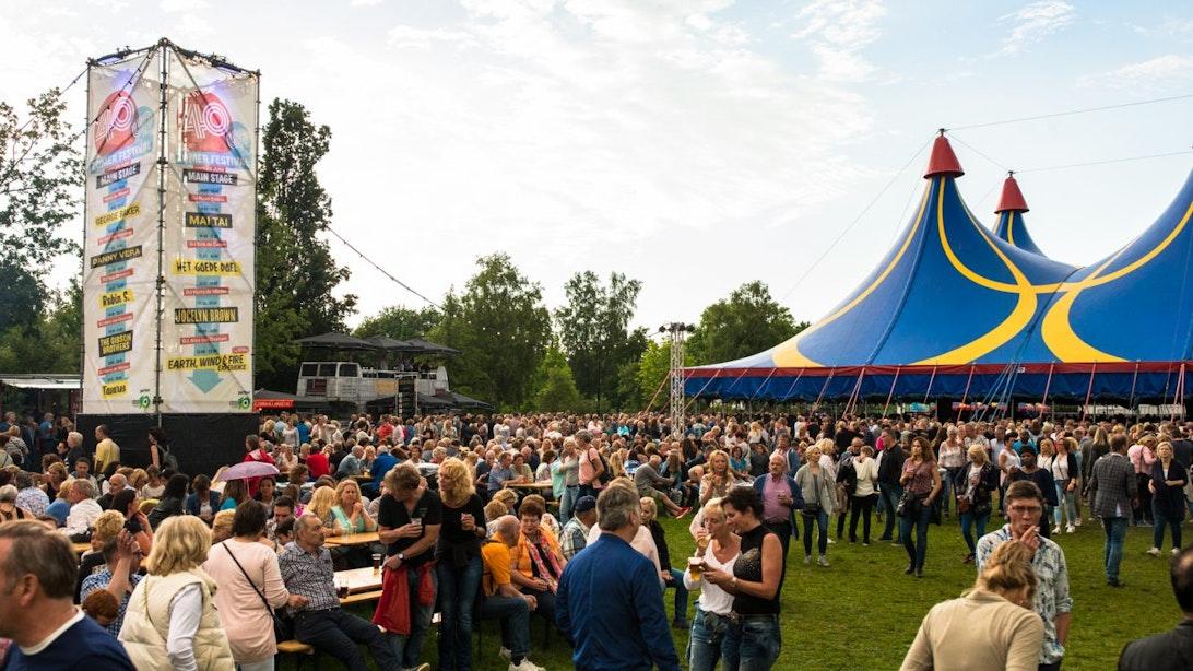 Wereldacts op 40UP Zomerfestival in Utrecht