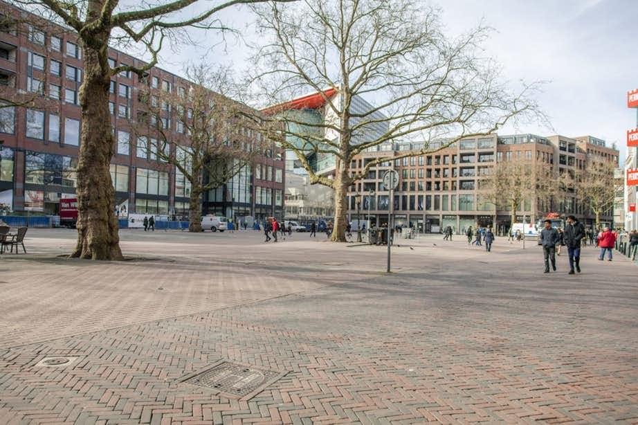 Er lijkt toch geen fontein te komen op het Vredenburgplein