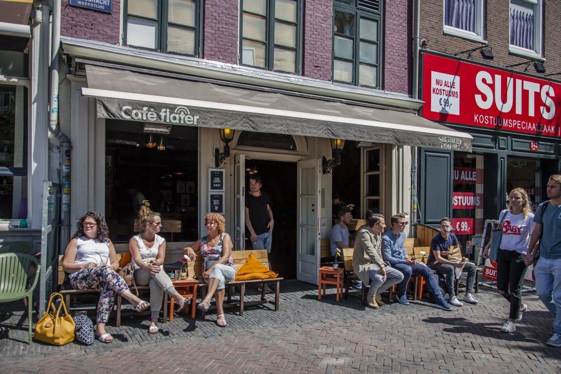 Klassieker De Flater: 'Al heel wat creatieve Utrechtse concepten zijn hier bedacht en beklonken'
