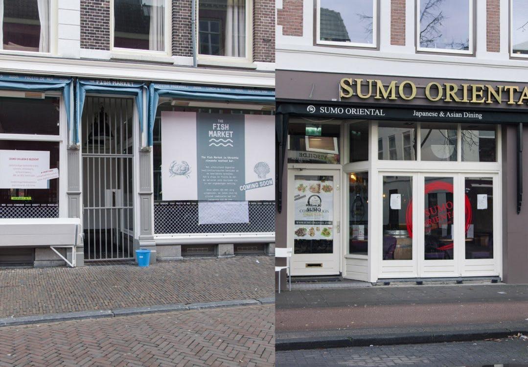 Bibob-onderzoek houdt opening The Fish Market en Sumo Oriental tegen