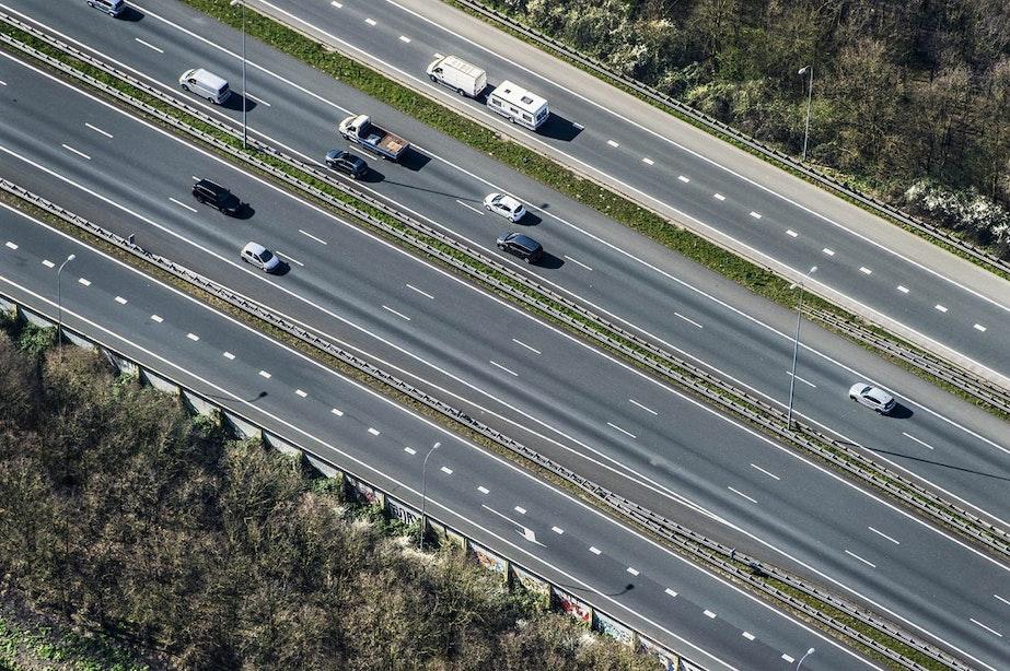 De A28 bij de Uithof is één van de gevaarlijkste stukken snelweg van Nederland